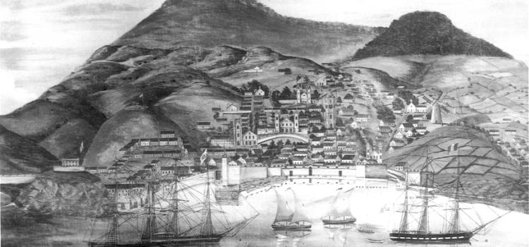 Fort of Nossa Senhora da Guia, in Horta, Faial Island