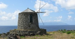 Windmills in Corvo Island